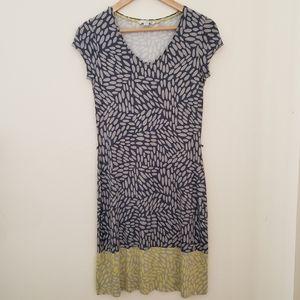 BODEN WOMANS PRINT DRESS size 8
